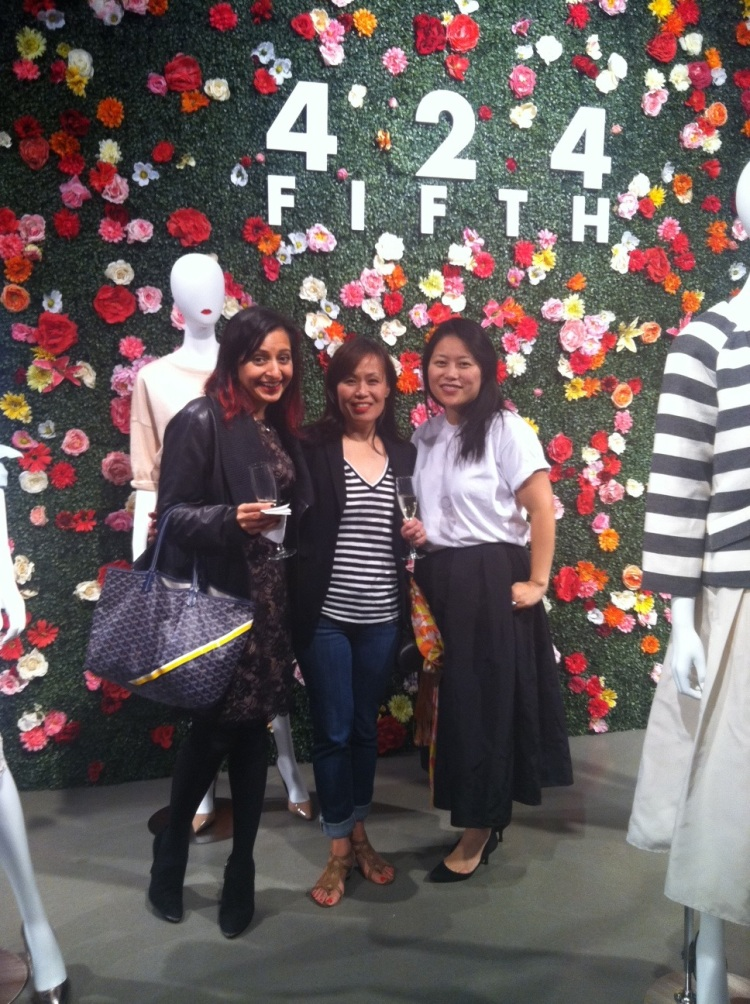 Me and my friends at the #4245th re-launch party